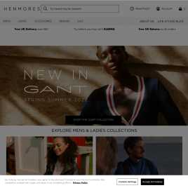henmores.co.uk preview