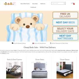 cheapbedsale.co.uk preview