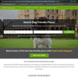 dogfriendly.co.uk preview