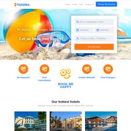hoteles.co.uk preview