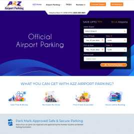 a2zairportparking.co.uk preview
