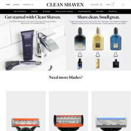 cleanshaven.co.uk preview
