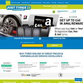 justtyres.co.uk preview
