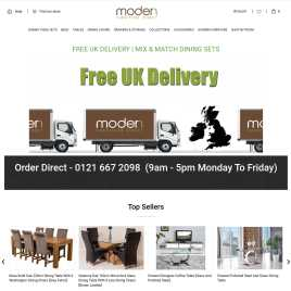 modernfurnituredirect.co.uk preview