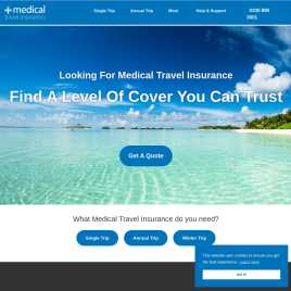 medicaltravelinsurance.co.uk preview