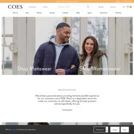 coes.co.uk preview