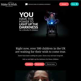 make-a-wish.org.uk preview