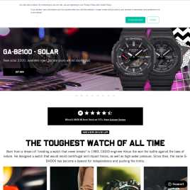 g-shock.co.uk preview