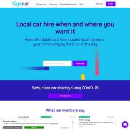 hiyacar.co.uk preview