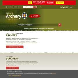 nationalarchery.co.uk preview
