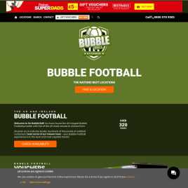 gobubbleball.co.uk preview