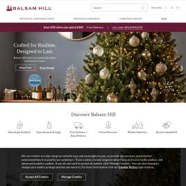 balsamhill.co.uk preview