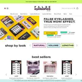 falseeyelashes.co.uk preview