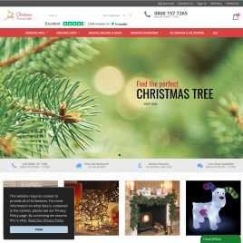 christmastreesandlights.co.uk preview