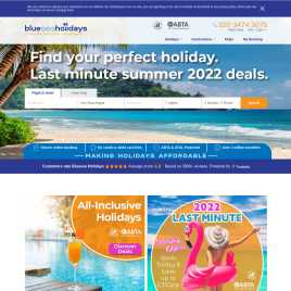 blueseaholidays.co.uk preview