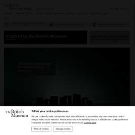 britishmuseumshoponline.org preview