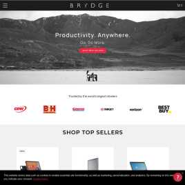 brydgekeyboards.co.uk preview