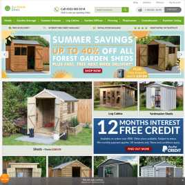 buyshedsdirect.co.uk preview