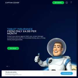 captaincover.co.uk preview