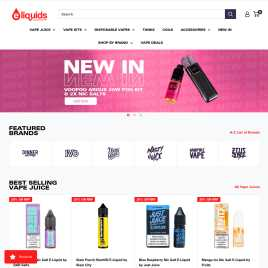 eliquids-superstore.co.uk preview