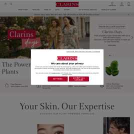 clarins.co.uk preview