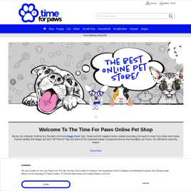 timeforpaws.co.uk preview