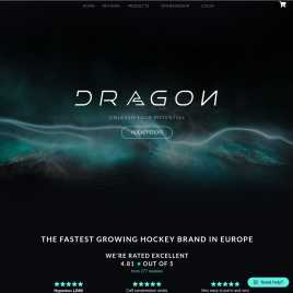 dragonhockey.co.uk preview