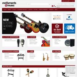 instruments4music.co.uk preview