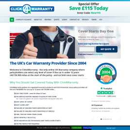 click4warranty.co.uk preview