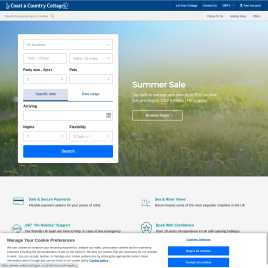 coastandcountry.co.uk preview