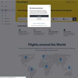 cheapflights.co.uk preview