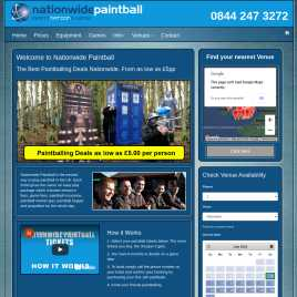 nationwidepaintball.co.uk preview