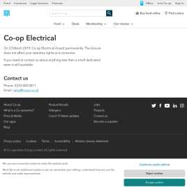 coopelectricalshop.co.uk preview