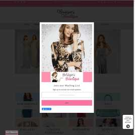 bridgetsboutique.co.uk preview