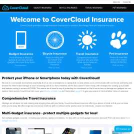 covercloud.co.uk preview