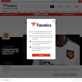 fanatics.co.uk preview