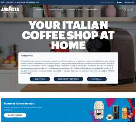 lavazza.co.uk preview