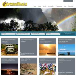 africantrails.co.uk preview