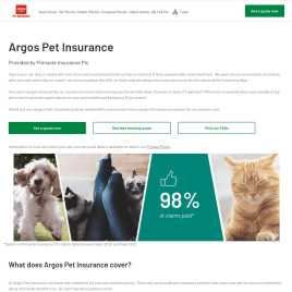 argospetinsurance.co.uk preview