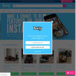 buntypetproducts.co.uk preview
