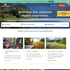 forestholidays.co.uk preview