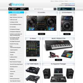 djfinance.co.uk preview