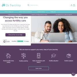 drfertility.co.uk preview
