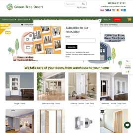 greentreedoors.co.uk preview