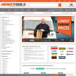 howetools.co.uk preview