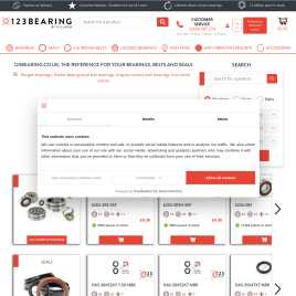 123bearing.co.uk preview