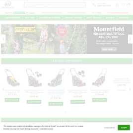 justlawnmowers.co.uk preview