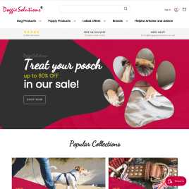 doggiesolutions.co.uk preview