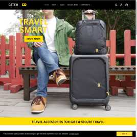 gate8-luggage.co.uk preview