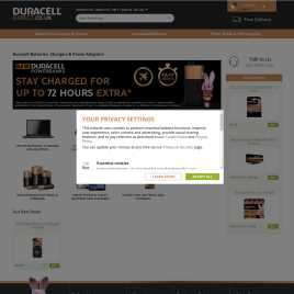duracelldirect.co.uk preview